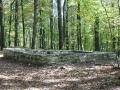 Grundmauern Limes Wachturm in Gunzenhausen