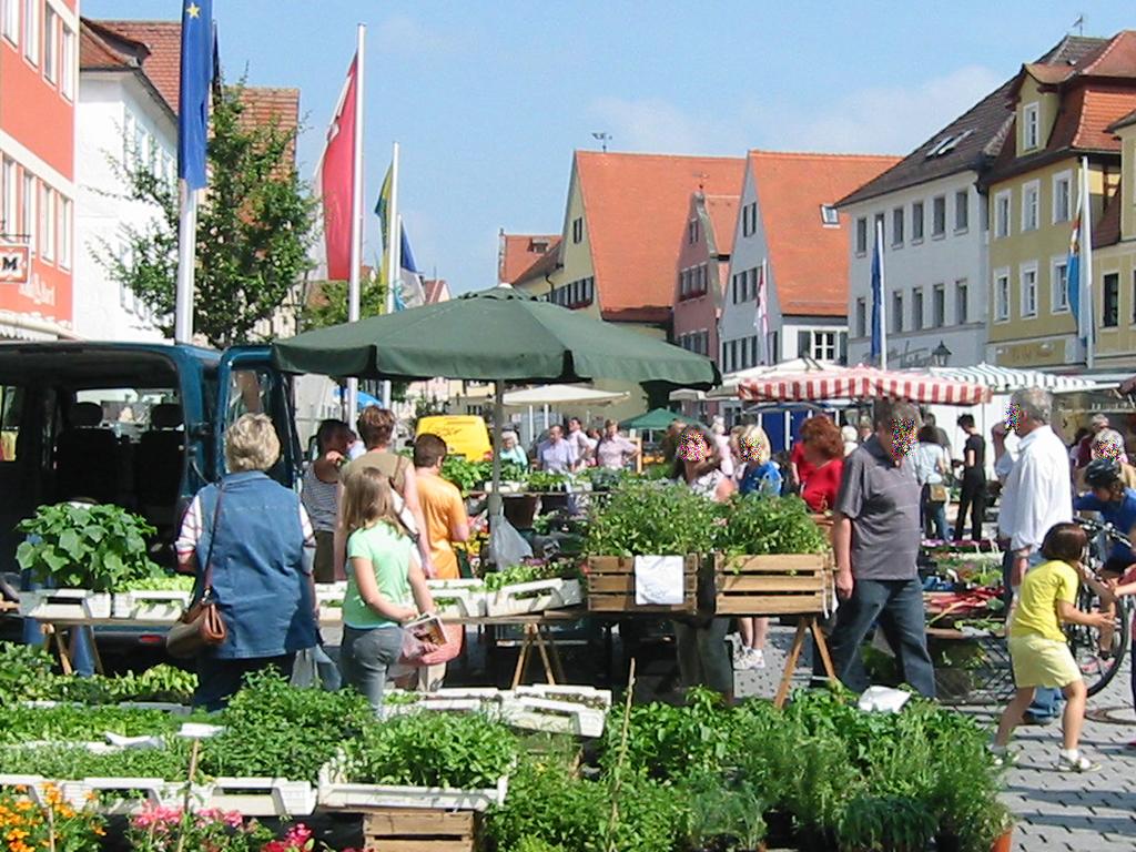 Markt_in_Gunzenhausen